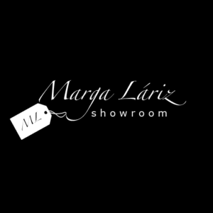 logo showroom Marga Láriz en Madrid